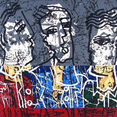 Titre: Liberté de parole 3, Artiste: PHERIVONG, Philippe