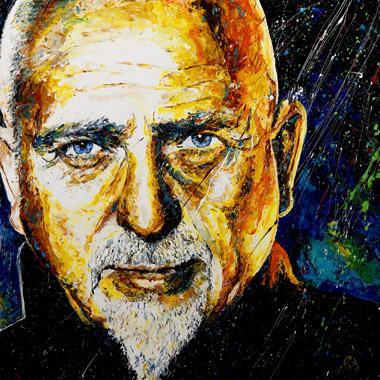 Titre: Peter Gabriel, Artiste: Maes, Gilles