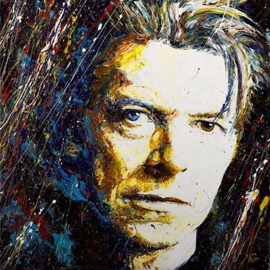 Titre: David Bowie, Artiste: Maes, Gilles