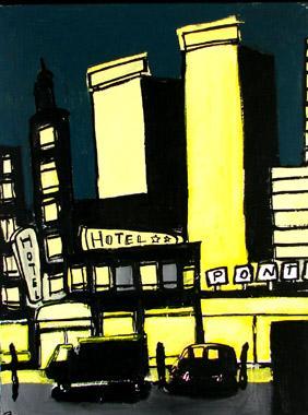 Titre: city by night 6, Artiste: Tornado, Eddy