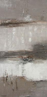 Titre: Composition en gris, Artiste: Demat, MC