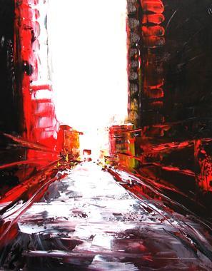 Titre: NYC 9, Artiste: STIKA, Voir à Genot