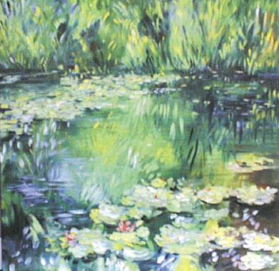 Titre: Festival de Monet 9, Artiste: Van Landeghem, Joelle