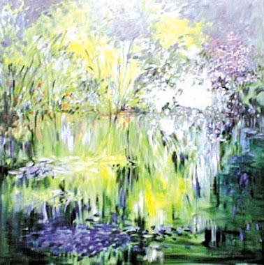 Titre: Festival de Monet 7, Artiste: Van Landeghem, Joelle