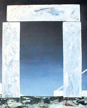 Titre: Abstract Landschap 5, Artiste: Keuller, Olivier