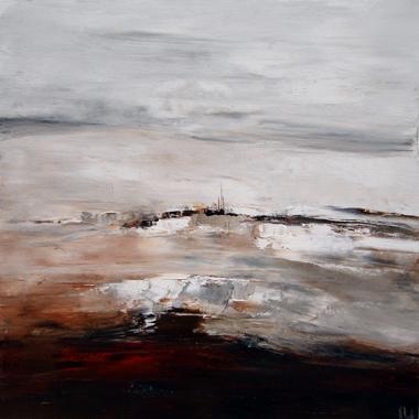 Titre: Le silence des pierres, Artiste: RUELLE, Nicolas