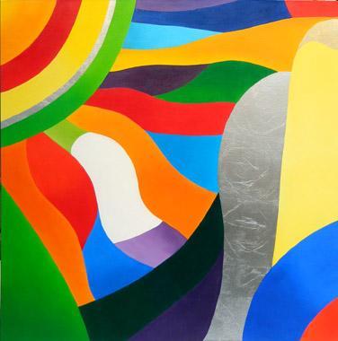 Titre: Soleil et vie, Artiste: MILLERET, Muriel