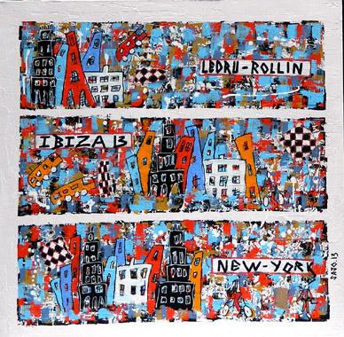 Titre: New-York Ibiza, Artiste: JOURDAIN, Sandra