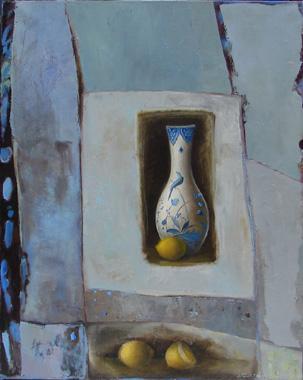 Titre: Métamorphose en bleu, Artiste: IVANCIC, Irène