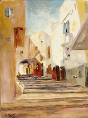 Titre: La Kasbah, Artiste: DROUET, Suzanne