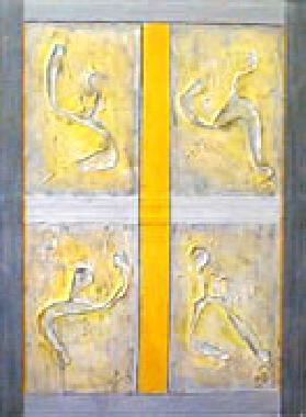 Titre: Structure et dynamisme, Artiste: BOUVIER, Jacqueline