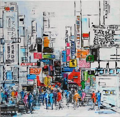 Titre: Ville du monde 2, Artiste: Grange, Nathalie