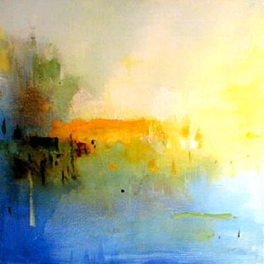 Titre: Reflet 6, Artiste: DECK, Jean-Marc