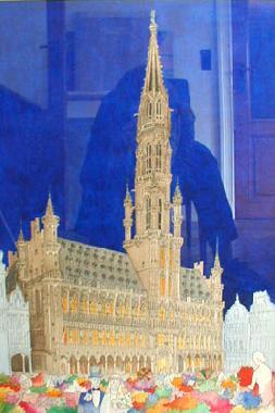 Titre: Hôtel de ville, Artiste: Van Damme, Josse