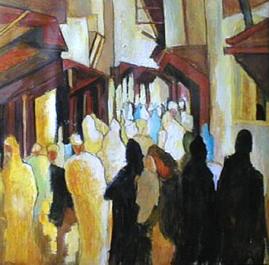 Titre: Médina II, Artiste: Dehareng, Marc
