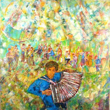 Titre: Jazz Band, Artiste: Monnet, Madeleine