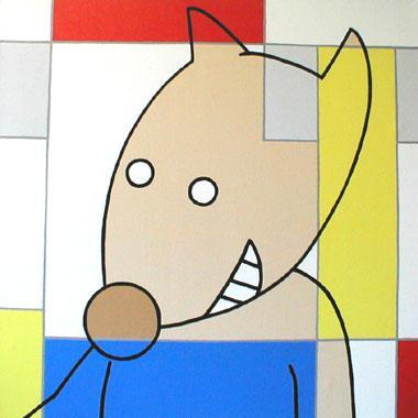 Titre: A l'ouest de Piet, Artiste: BELLIER, Franck