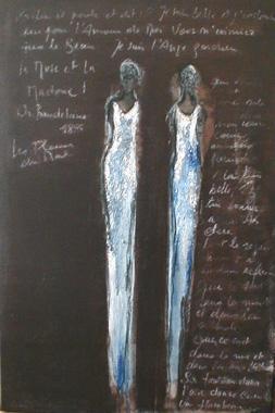 Titre: La muse et la madone, Artiste: Van Vaerenbergh, Carine