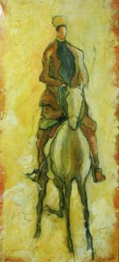 Titre: Le cavalier, Artiste: Dehareng, Marc