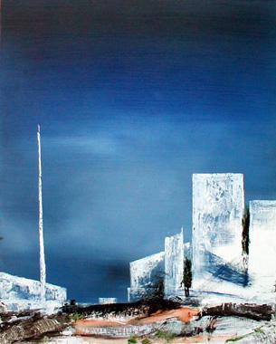 Titre: Abstract Landscape 7, Artiste: Keuller, Olivier