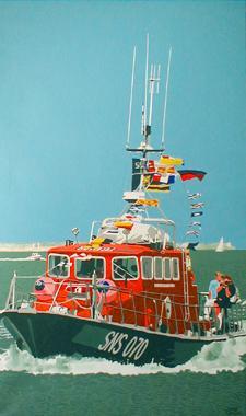 Titre: Devant l'île d'Aix, Artiste: Dumont, Michel