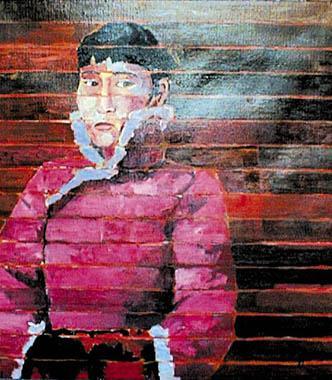 Titre: Ligne 10, Artiste: Belluzzo, Antonio