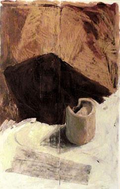 Titre: Terre brulée, Artiste: Finne, Anne-Marie