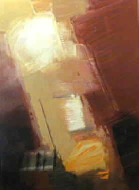 Titre: Ocre jaune/ocre rouge, Artiste: HUET, Alain