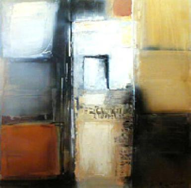 Titre: Les carrés, Artiste: HUET, Alain