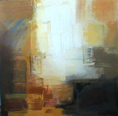 Titre: Envahi de lumière, Artiste: HUET, Alain