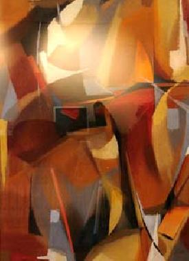 Titre: Composition 2, Artiste: Collienne, René