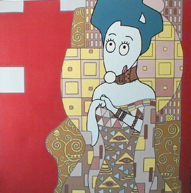 Titre: La Viennoise, Artiste: BELLIER, Franck
