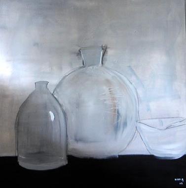Titre: Fioles, Artiste: Mara de St-Gilles,