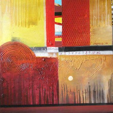 Titre: Anagrama de Colores 11, Artiste: Faber , Norman