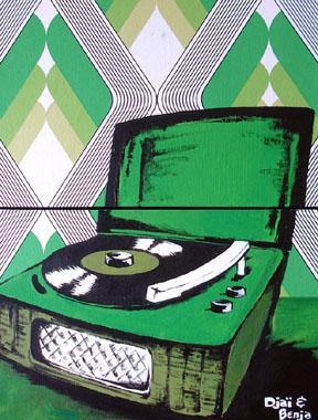 Titre: Tourne-disc, Artiste: Djaï et Benja,