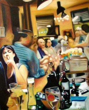 Titre: Café2, Artiste: MATHE, Pascal