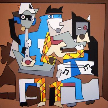 Titre: Le Trio, Artiste: BELLIER, Franck