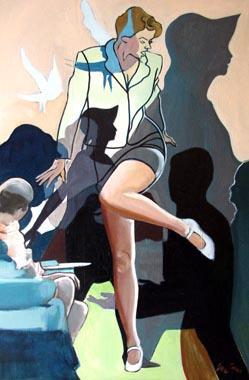Titre: Mouvement de femmes, Artiste: Van Soens, Eric