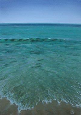 Titre: Mer 6, Artiste: Bernair, Eléonore