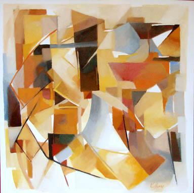 Titre: Espace, Artiste: Collienne, René
