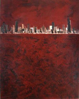Titre: Skyline 12, Artiste: Cnudde, Marc