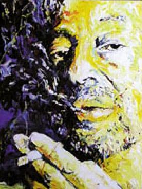 Titre: Serge Gainsbourg, Artiste: Maes, Gilles