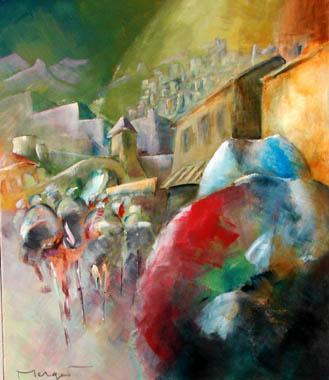 Titre: Compétition, Artiste: Merget, Thierry