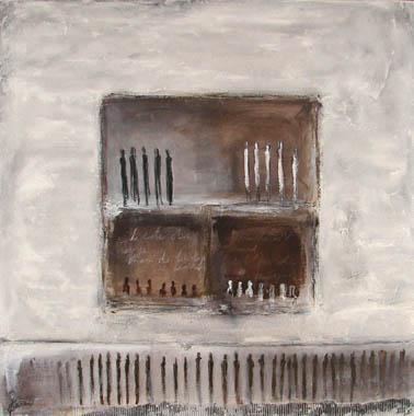 Titre: Entre ombre et lumière I, Artiste: Van Vaerenbergh, Carine