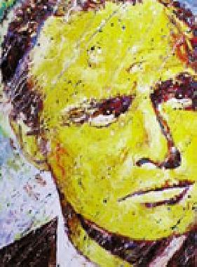 Titre: Marlon Brando, Artiste: Maes, Gilles