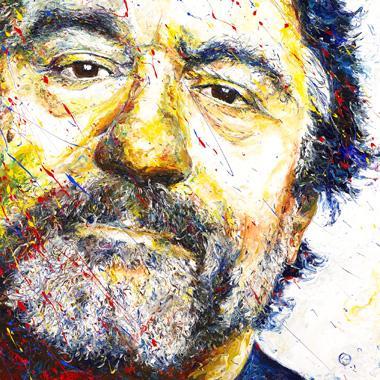 Titre: Robert de Niro, Artiste: Maes, Gilles