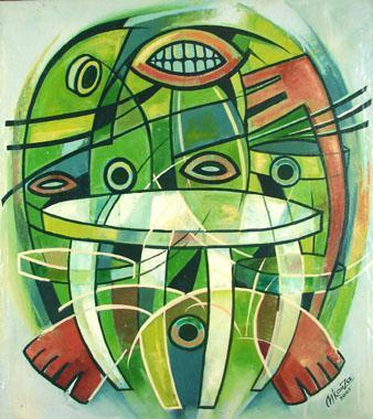 Titre: Environnement, Artiste: NKanza et Lukodisa,